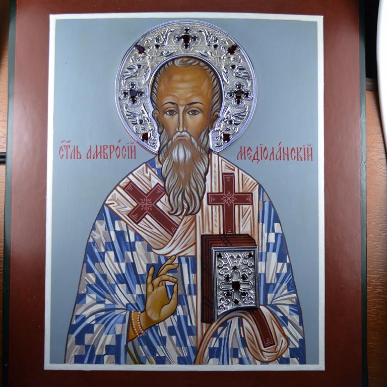 Православные оклады для икон из золота и серебра