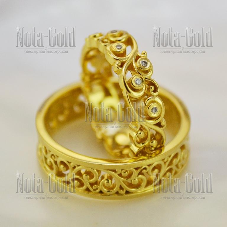 Мужские запонки из золота