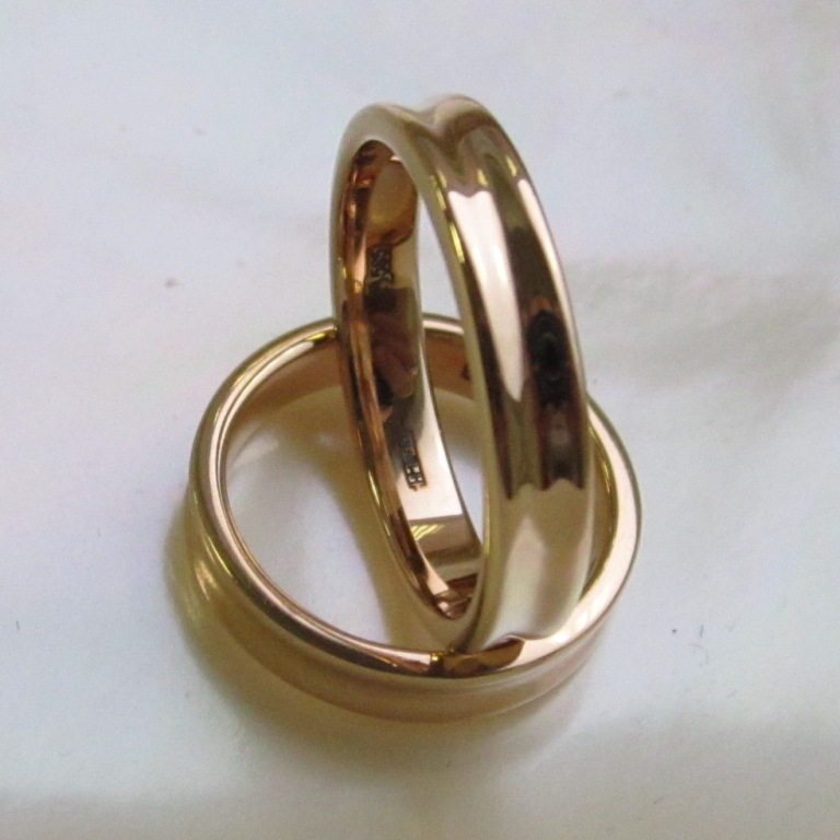 изящные обручальные кольца на заказ