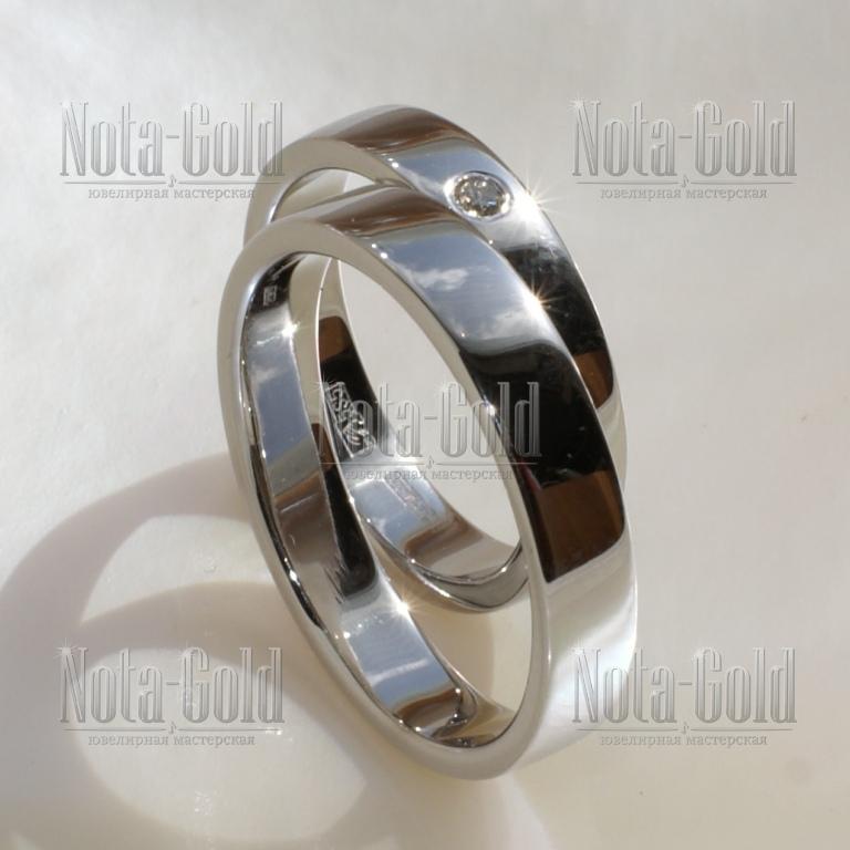 Обручальные кольца на заказ Москва