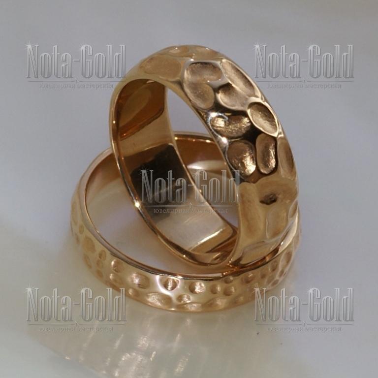 Обручальные кольца необычные
