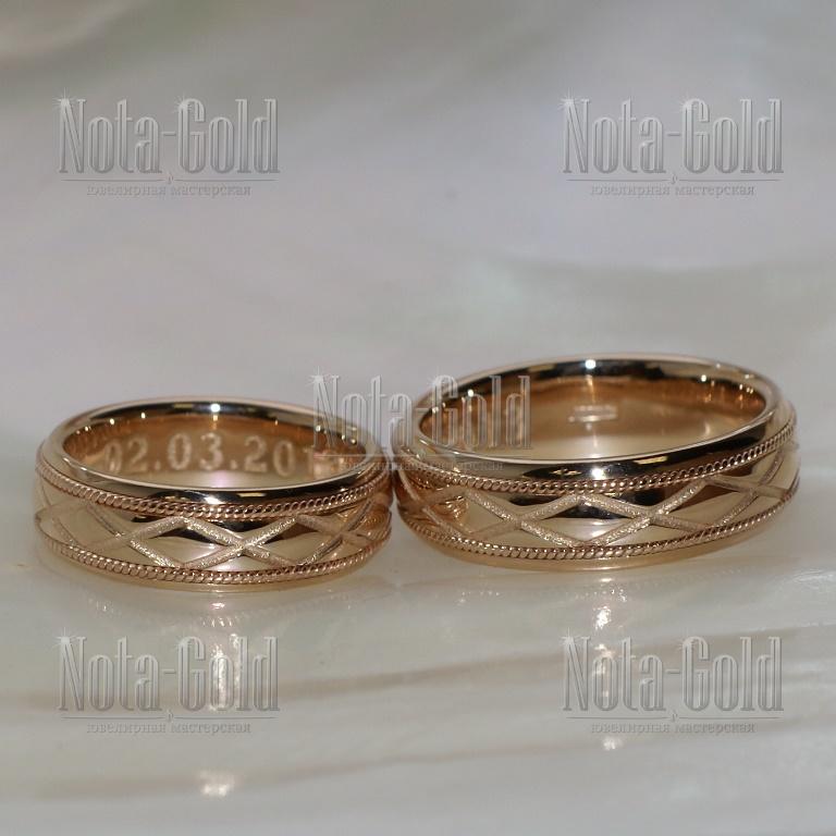Обручальные кольца недорогие