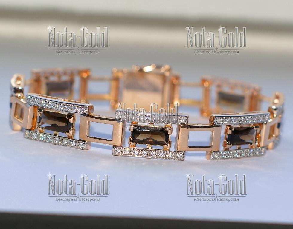 Браслеты на заказ из золота и серебра