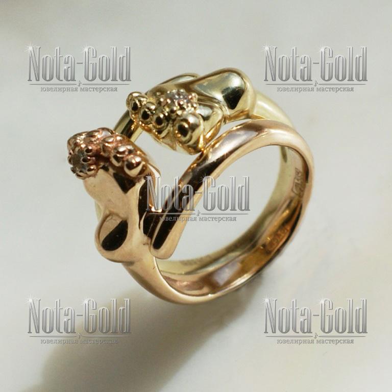 Символика из золота и серебра к рождению ребёнка