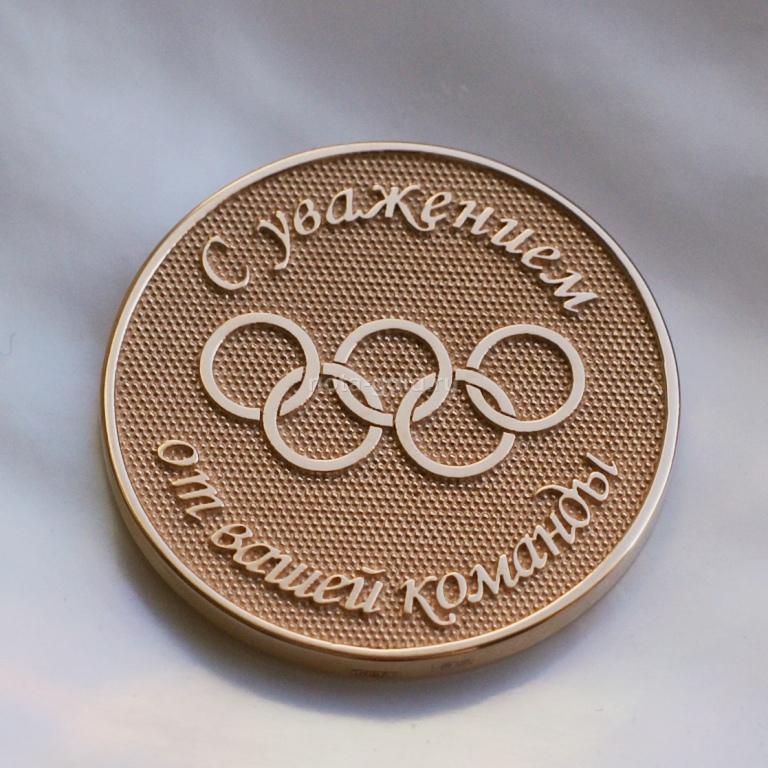 Медали из золота и медали из серебра на заказ