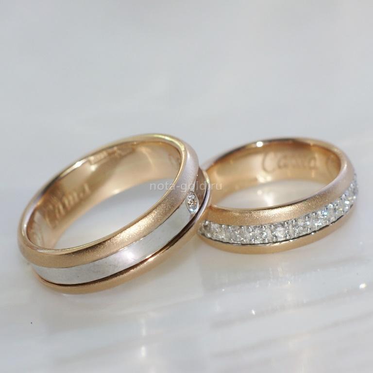 Обручальные кольца из золота фото и цены