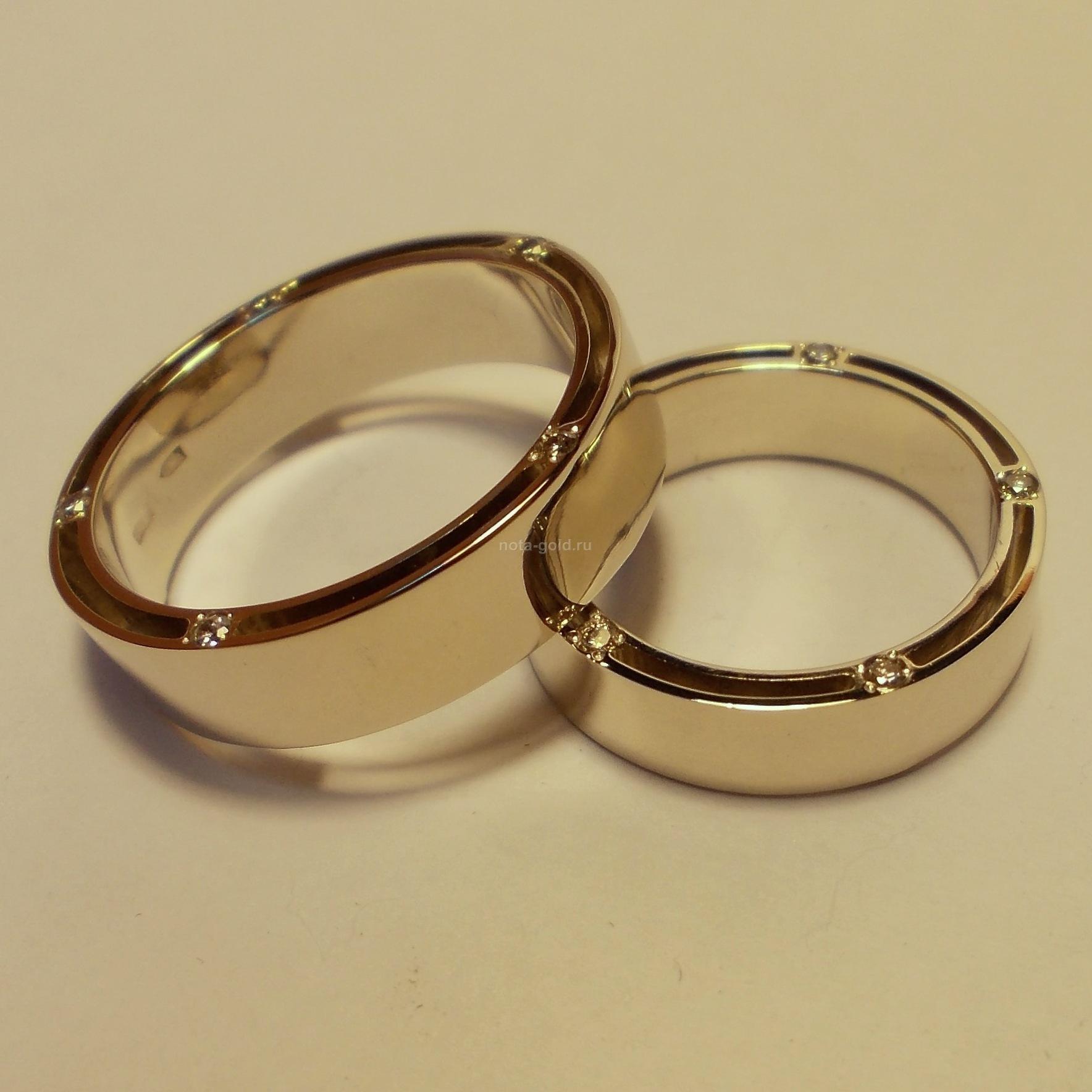 Обручальные кольца эксклюзивные