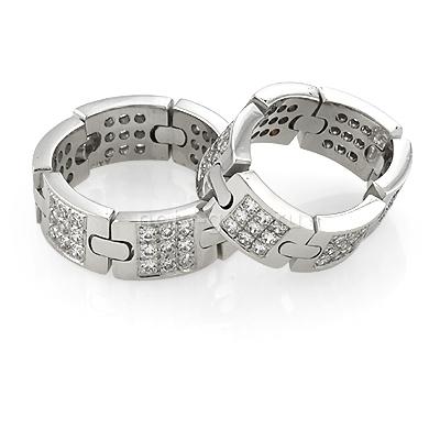 Обручальные кольца подвижные
