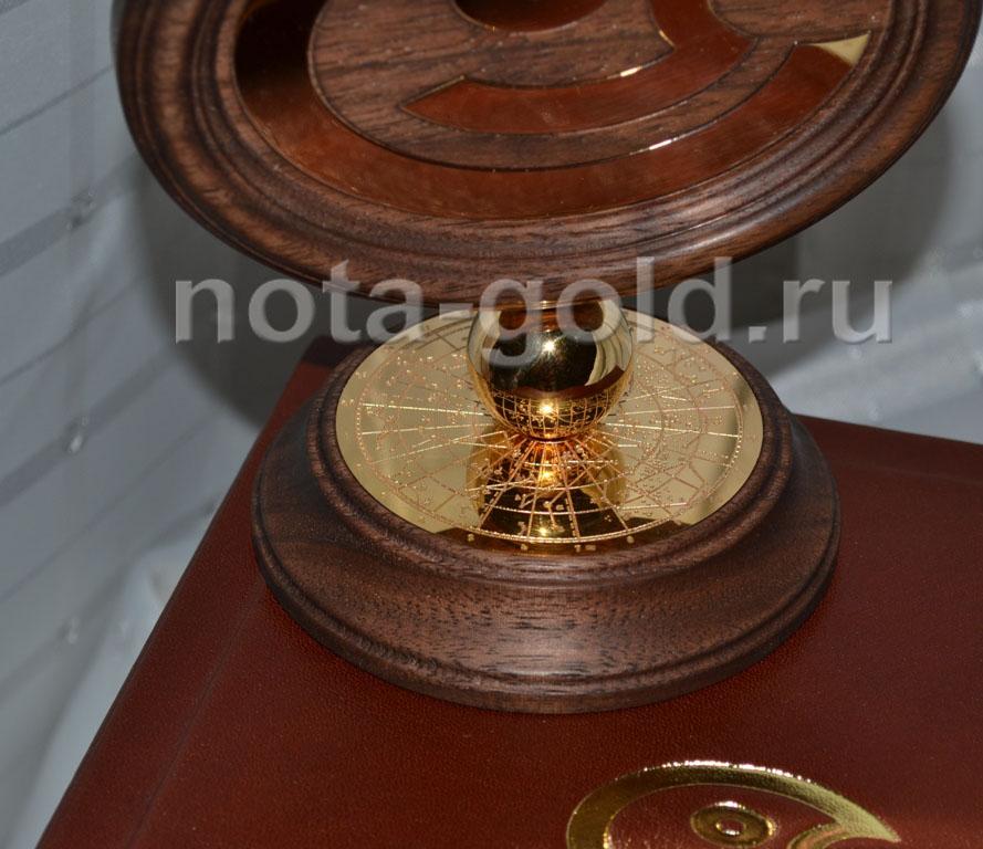 Корпоративный подарок из золота